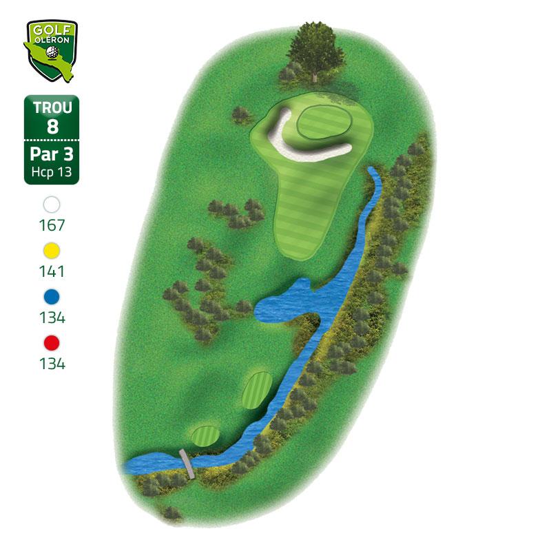 golf oléron parcours