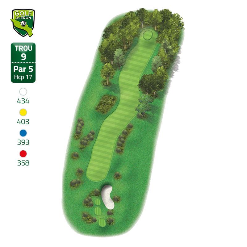 golf oléron trous 9 st pierre